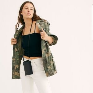 9cc0349a46479 Free People. Free People Not Your Brothers Camo Jacket